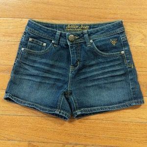 Justice Jeans Sz 12R Jean Shorts